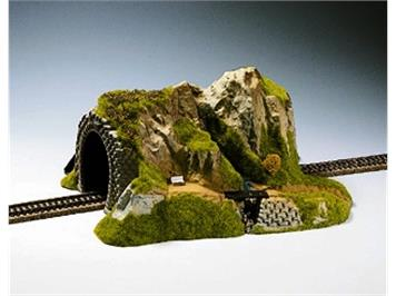 NOCH 02200 Tunnel, 1-gleisig, gerade, 34 x 27 x 16 cm HO
