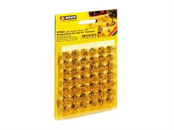 Noch 07043 Mini-Set XL Grasbüschel blühend gelb veredelt