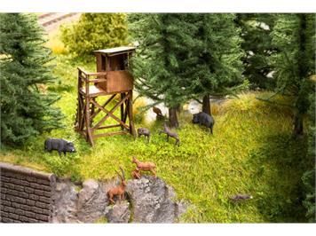 "Noch 12045 Laser-Cut ""Im Wald"" mit 12 Tierfiguren HO"