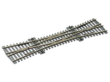 Peco SL-E190 Doppelkreuzungsweiche Cd 75 electrofrog