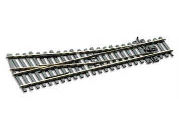 Peco SL-E191 Weiche rechts 12° kurz R610mm Cd 75, H0 (1:87)