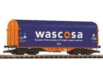 PIKO 37748 Schiebeplanenwagen Shimmns-tu 718 Wascosa VI, Spur G IIm (1:22,5)