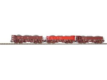 Piko 58311 DB AG Fakks 127 DB-AG 3er Set beladen
