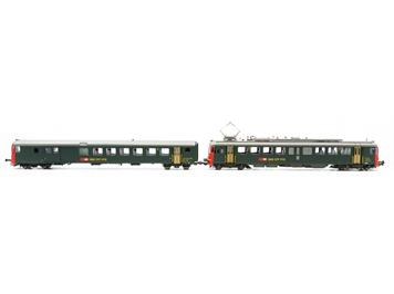 PIKO 96852 SBB RBe 4/4 1447+ BDt EW II mit roter Stirnfront, DC-Sound Ep