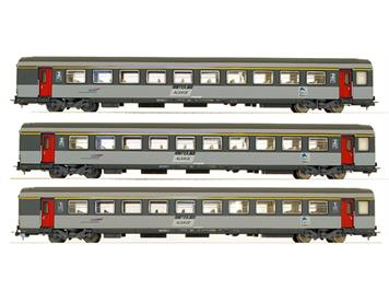 "PIKO SNCF Alsace ""Corail"" 3er Set Tpy VTU"