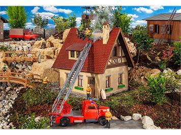 Pola 331090 Brennendes Haus G