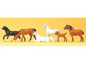 Preiser 10150 Pferde HO