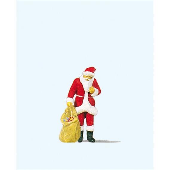 Preiser 29027 Weihnachtsmann mit Gabensack HO