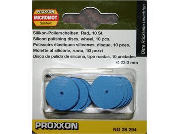 Proxxon 28294 Polierscheibe Silikon, Durchm. 22mm (10)