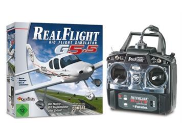 Real Flight R/C Flugsimulator G5,5 Mode 2/4
