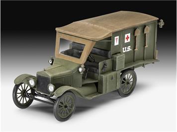 Revell 03285 Model T 1917 Ambulance, 1:35