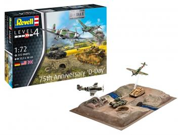 "Revell 03352 75 Yahr ""D-Day-Set"" 1:72"