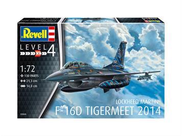 Revell 03844 Lockheed Martin F-16D Tigermeet 2014, Massstab 1:72