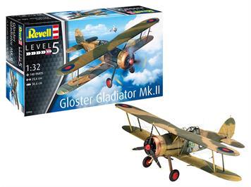 Revell 03846 Gloster Gladiator Mk. II, 1:32