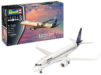 Revell 03883 Embraer 190 Lufthansa, 1:144