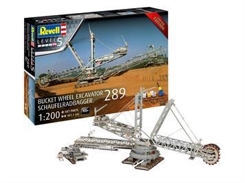 Revell 05685 Geschenkset Schaufelradbaggger 289