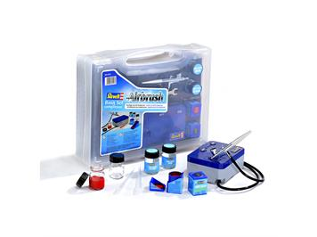 Revell 39199 Airbrush Basic-Set mit Kompressor