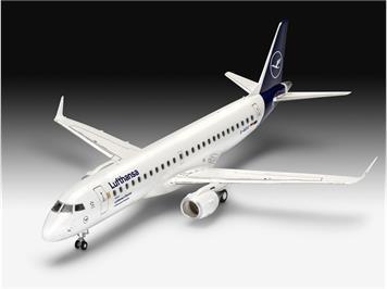 Revell 63883 Model Set Embraer 190 Lufthansa, 1:144