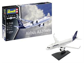 Revell 63942 Airbus A320 Neo Lufthansa
