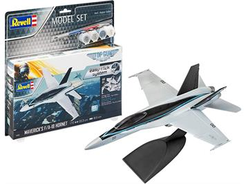 Revell 64965 Model Set F/A - 18 Hornet Top Gun
