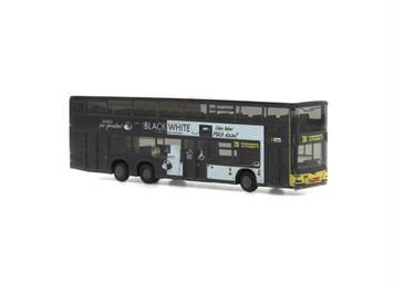 Rietze 16975 MAN Lion's City DL 07 BVG - Tchibo Black'n'White N