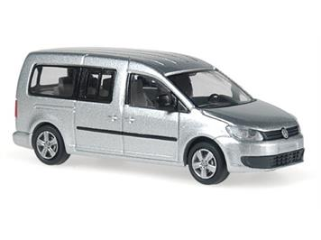 Rietze 21860 VW Caddy Maxi Bus 2011 Reflexsilber metallic