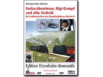 RioGrande DVD 6430 - Furka-Abenteuer, Rigi-Dampf und alte Technik
