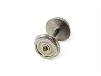 Rivarossi HC6100 AC-Radsätze (4 Stk.) L25,2 mm, D10,27mm