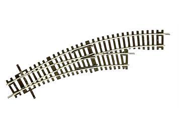 Roco 42465 Line 2,1 mm Bogenweiche R2/R3 rechts