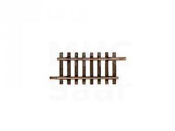 Roco H0-Gerades Gleisstück Neusilber 2,5 mm