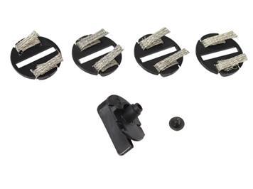 Scaletrix C8329 Guide Blade / 4 Braid Plates (Stromabnehmer / Schleifer)