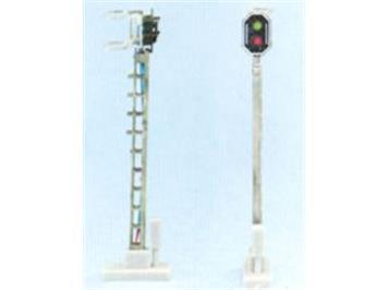Schneider 2201 SBB Hauptsignal HO 2 LED 66mm