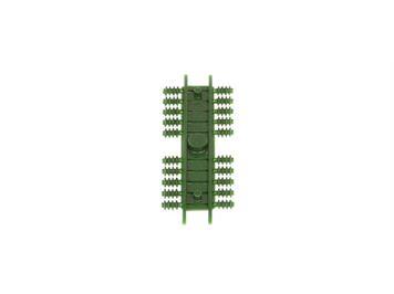 Sommerfeld 405 Rillen-Isolatoren grün (Btl. à 20 Stk.) N
