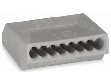 Steckklemme A 5164 / 273-108 WAGO 8P 1,5 mm2 grau