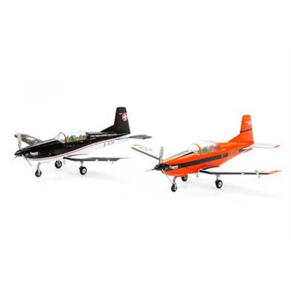Swiss Line Collection 001700 PC-7 Pilatus Doppelset A-901