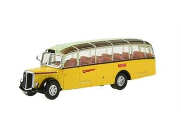 "Swiss Line Collection 002008 Schweizer Postauto Saurer L4C ""Alpenwagen IIIa"" HO"