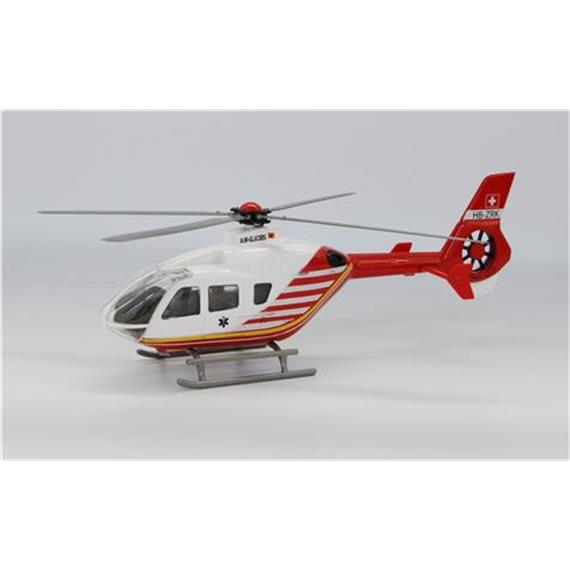 Swiss Line Collection 3565976AR4 EC-135 Heli Air-Glaciers weiss/rot HB-ZRK