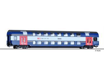Tillig 73809 Doppelstockwagen 1./2. Klasse S-Bahn Zürich (rote Türen) HO