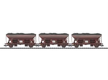 TRIX 24123 Selbstentladewagen-Set DR/DDR