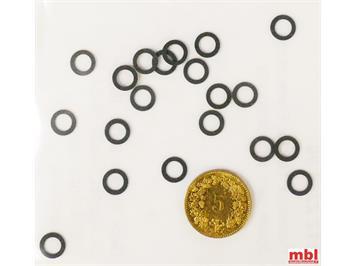 TRIX E12225800 Minitrix Haftreifen, 20 Stück, N (1:160)