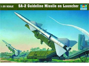 Trumpeter 00206 SA2- Guideline Missile on Launcher 1:35