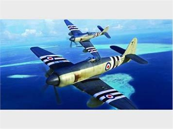 Trumpeter 02844 Hawker Sea Fury FB.11