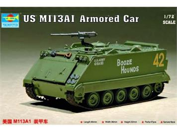 Trumpeter 07238 US M113 A1 Armored Car