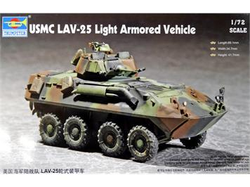 Trumpeter 07268 USMC LAV-25 Light Armored Vehicle