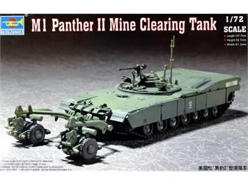 Trumpeter 07280 M1 Panther II Mine Clearing Tank