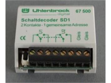 Uhlenbrock 67500 Schaltdecoder SD1