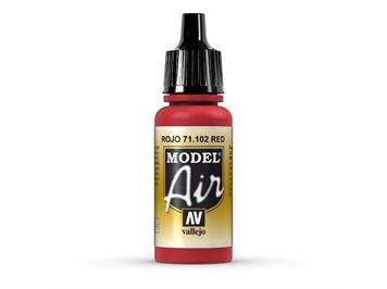 Vallejo 71.102 Model Air 17ml, RED