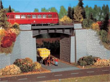 Vollmer 2544 Bahnüberführung Spur H0