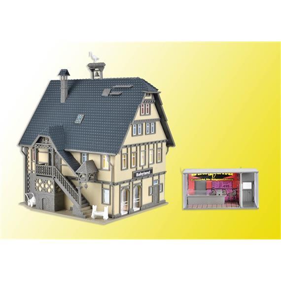 Vollmer 43661 Boutique Babyland mit Beleuchtung HO