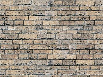 Vollmer 46038 Karton-Mauerplate Basalt